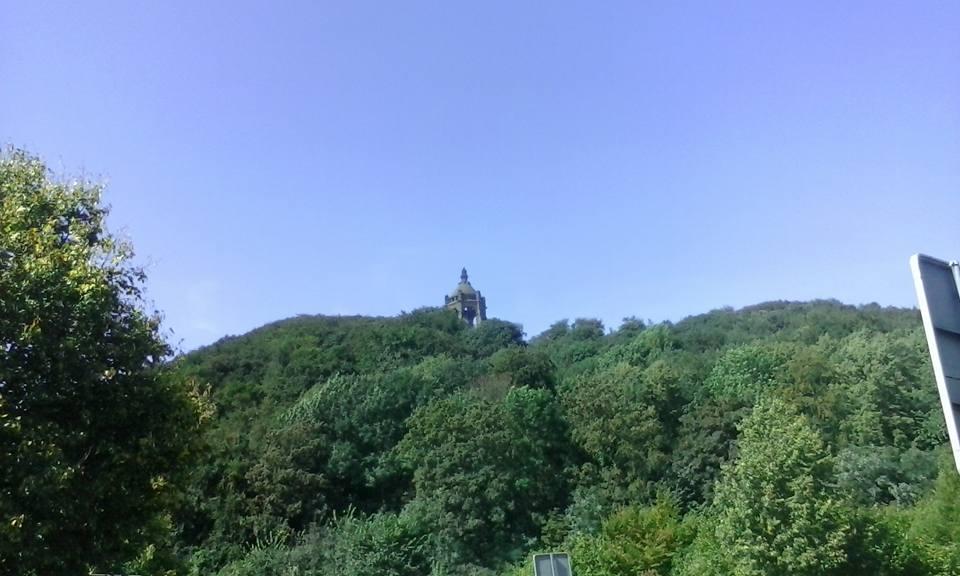 Trekkingrad- Kaiser Wilhelm Denkmal