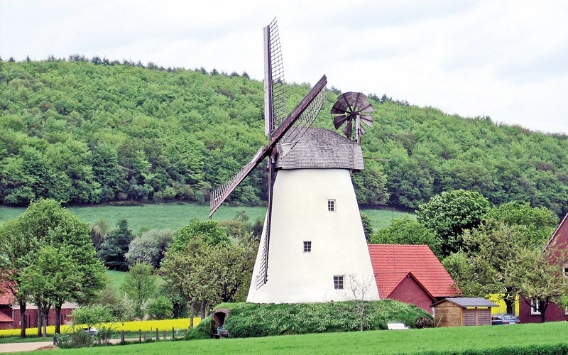 Trekkingrad - Bockwindmühle Kröger