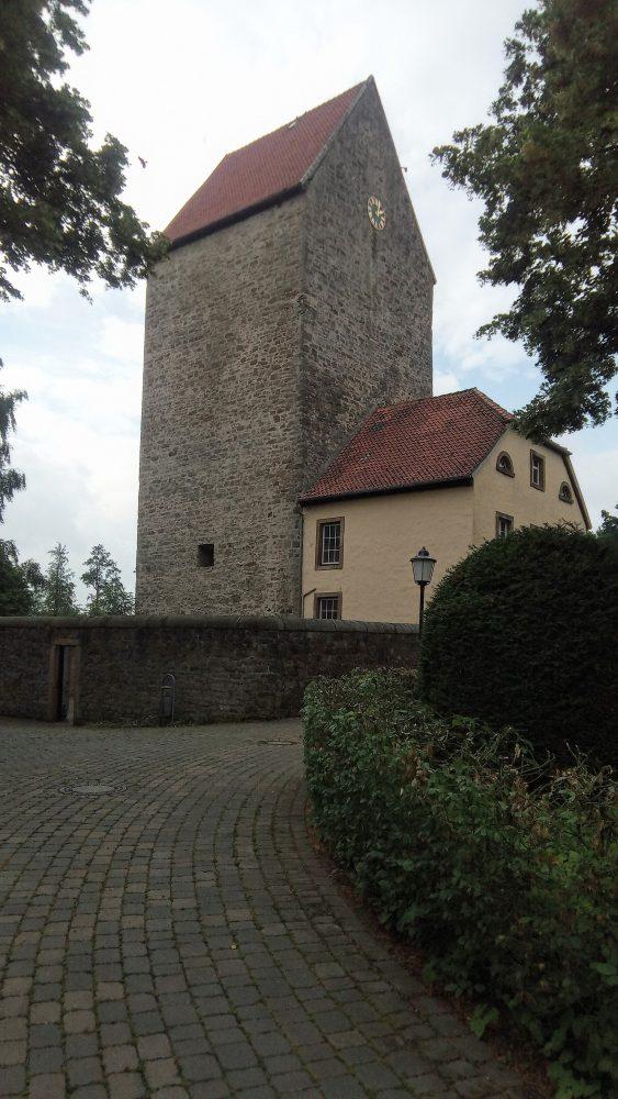 Burg Wittlage in der Nähe der Varus Schlacht