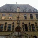 Verkündung des Westfählischen Frieden auf der Rahaustreppe von Osnabrück