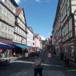 Die Einkaufsstraße von Hann. Münden