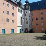 Der Kern der Stadt bildet die Altstadt mit dem Wefelnschloss
