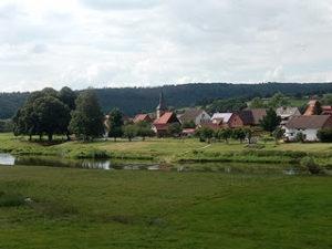 Hemeln am Weserradweg